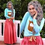 Stelan Owl Hijab Set GC1851