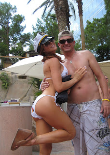 Chad and Malibu Rum Girl.