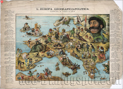 L'Europa geografico-politica