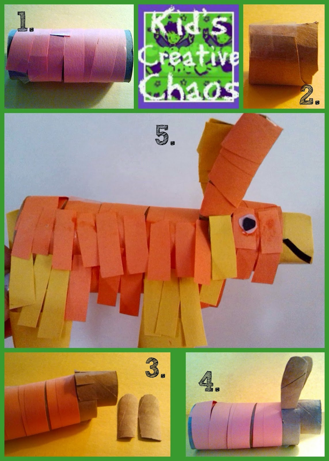 How to make a donkey pinata party favor.