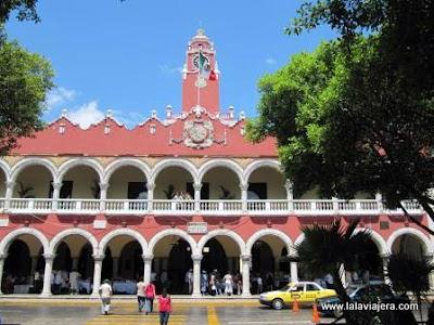 Ayuntamiento Palacio Municipal Merida, Yucatan, Mexico