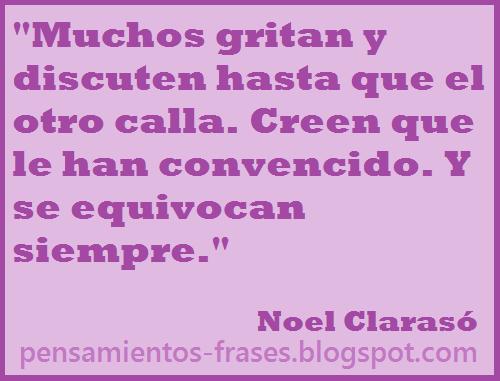 frases de Noel Clarasó