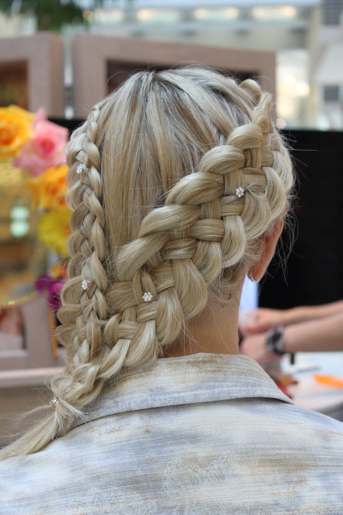 German Braid Hairstyle