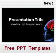 Modèles PPT gratuits Médecine Santé neurologie neurology cerveau cephalee