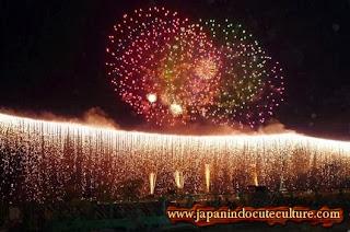 hanabi kembang api cantik di Jepang