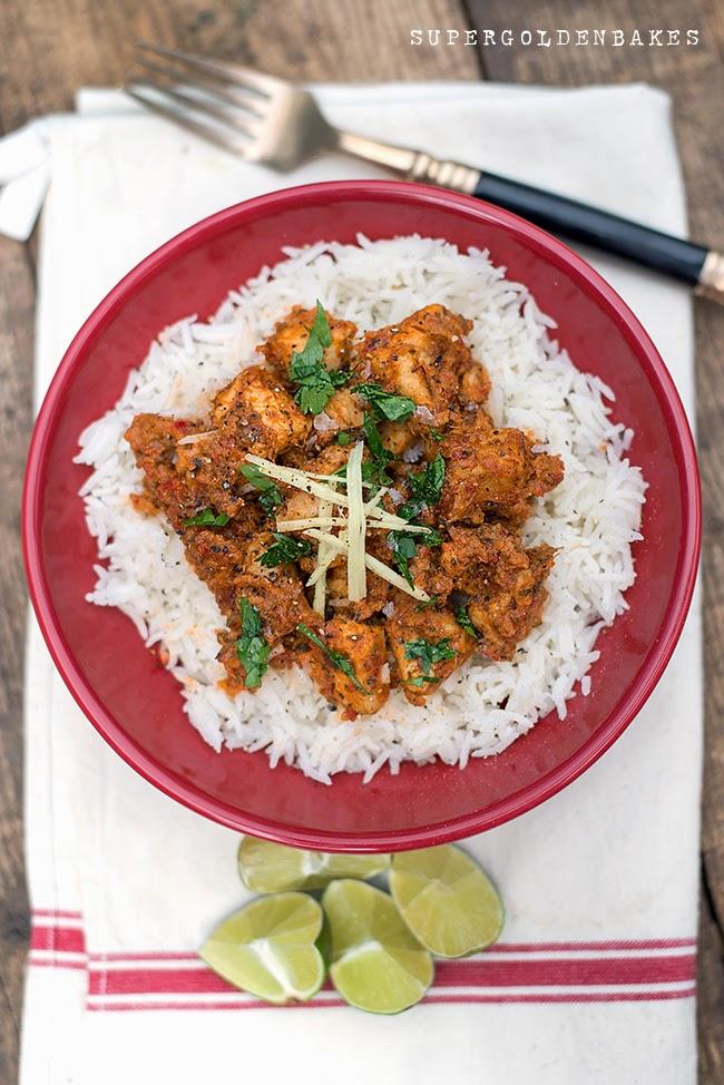 Quick chicken curry