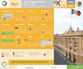 CALENDARIO ESCOLAR 2011-2012 unitep053