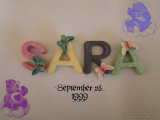 Sara September 28 1999 Claynames