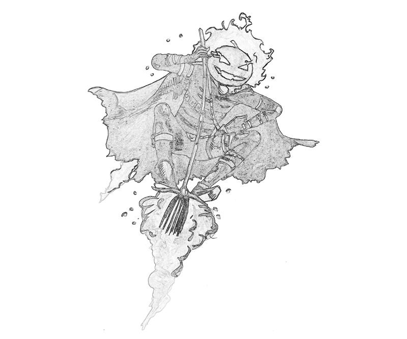 Marvel Ultimate Alliance 2 Jack O'Lantern Helloween Coloring Pages title=