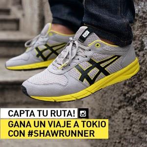 Onitsuka Tiger, Japón, concurso, #SHAWRUNNER, calzado, sneakers,