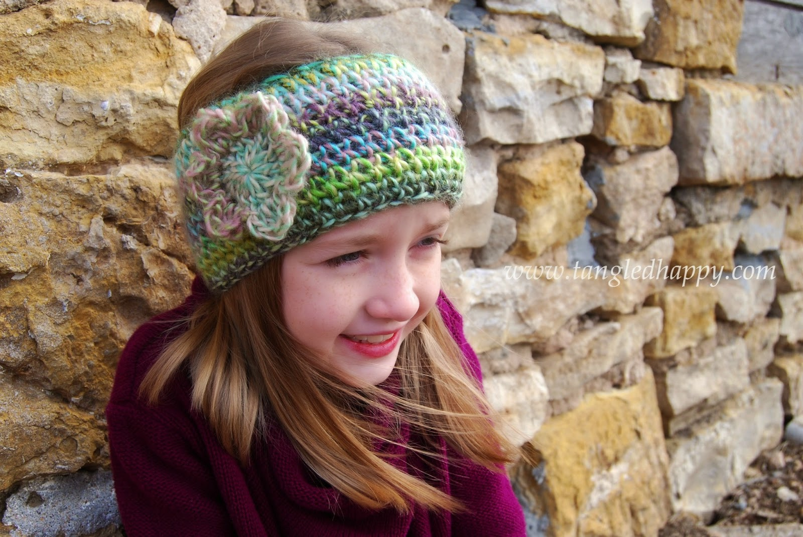 Faux Knit Ear Warmer {Free Crochet Pattern} tangled ...