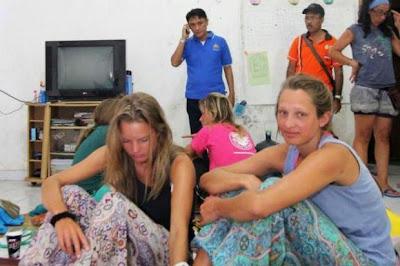 Pelancong Minum Air Kencing Untuk Hidup selepas Bot Karam