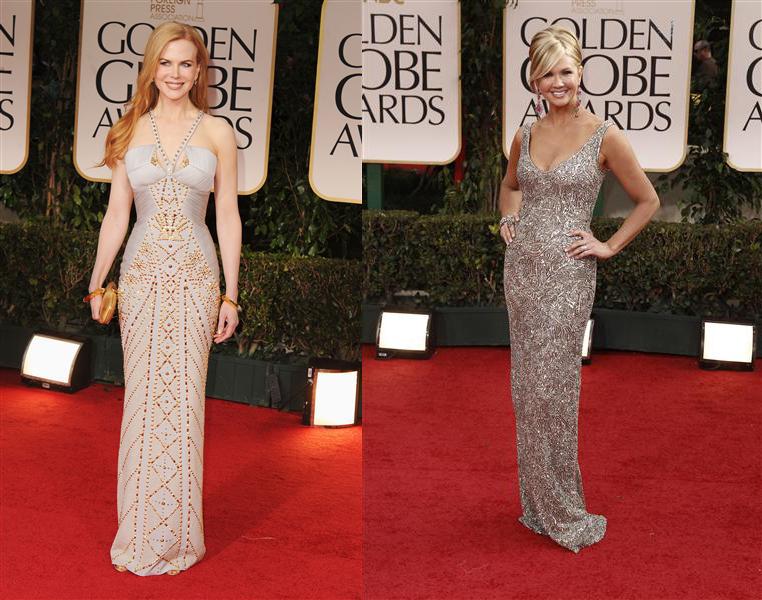 Fashion: Golden Globes 2012 Arrivals