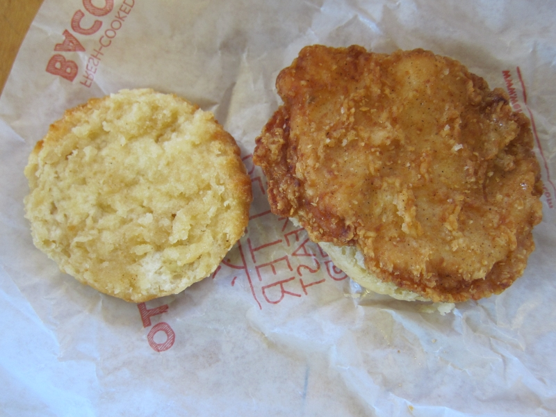 Review: Wendy's - Honey Butter Chicken Biscuit | Brand Eating