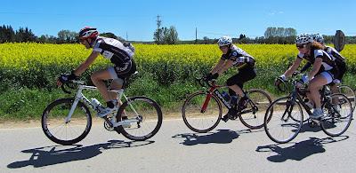 Spring ride to Sant Hilari