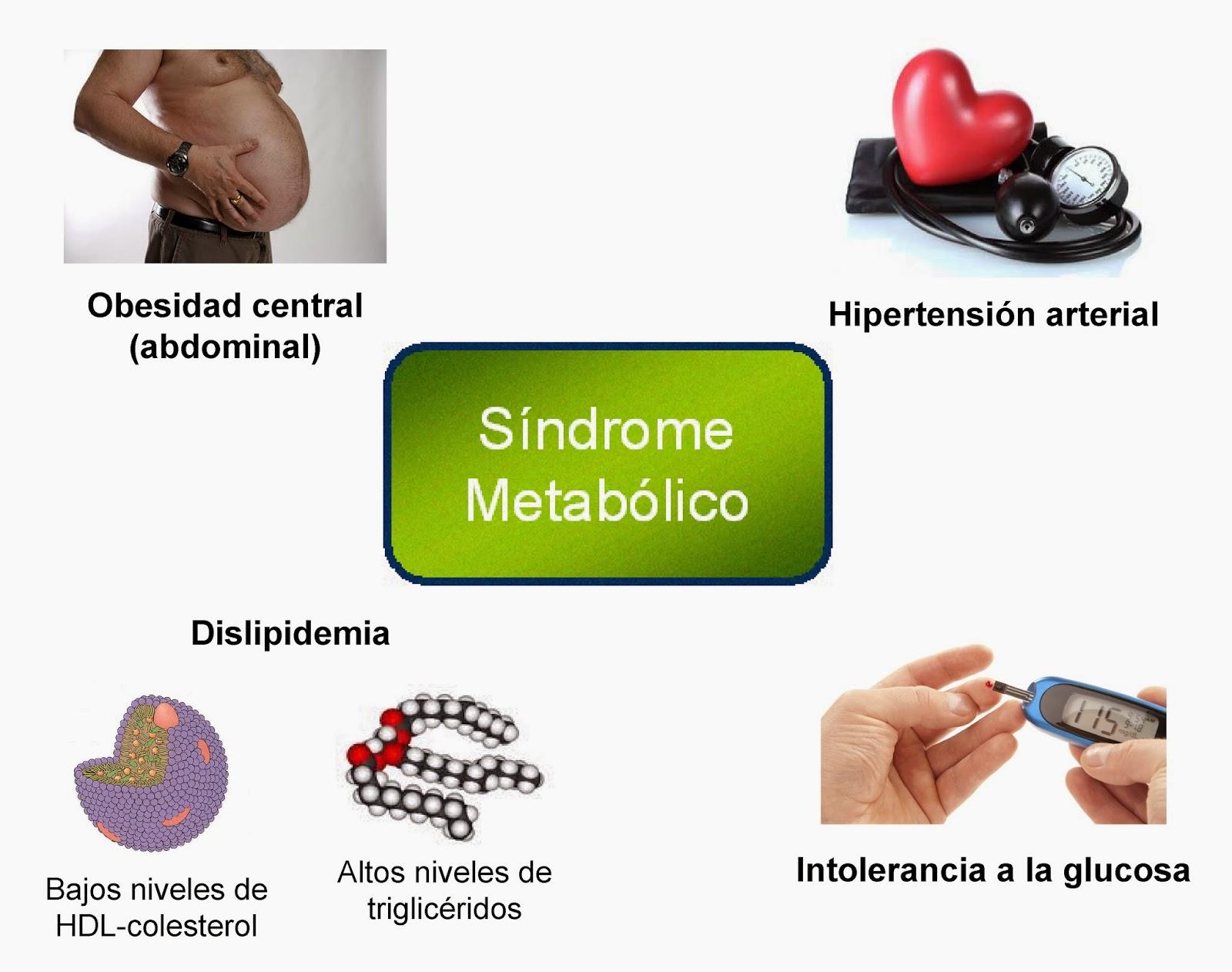 Criterios para el diagnóstico del Síndrome Metabólico
