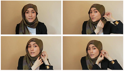 Cara Memakai Jilbab Hanatajima