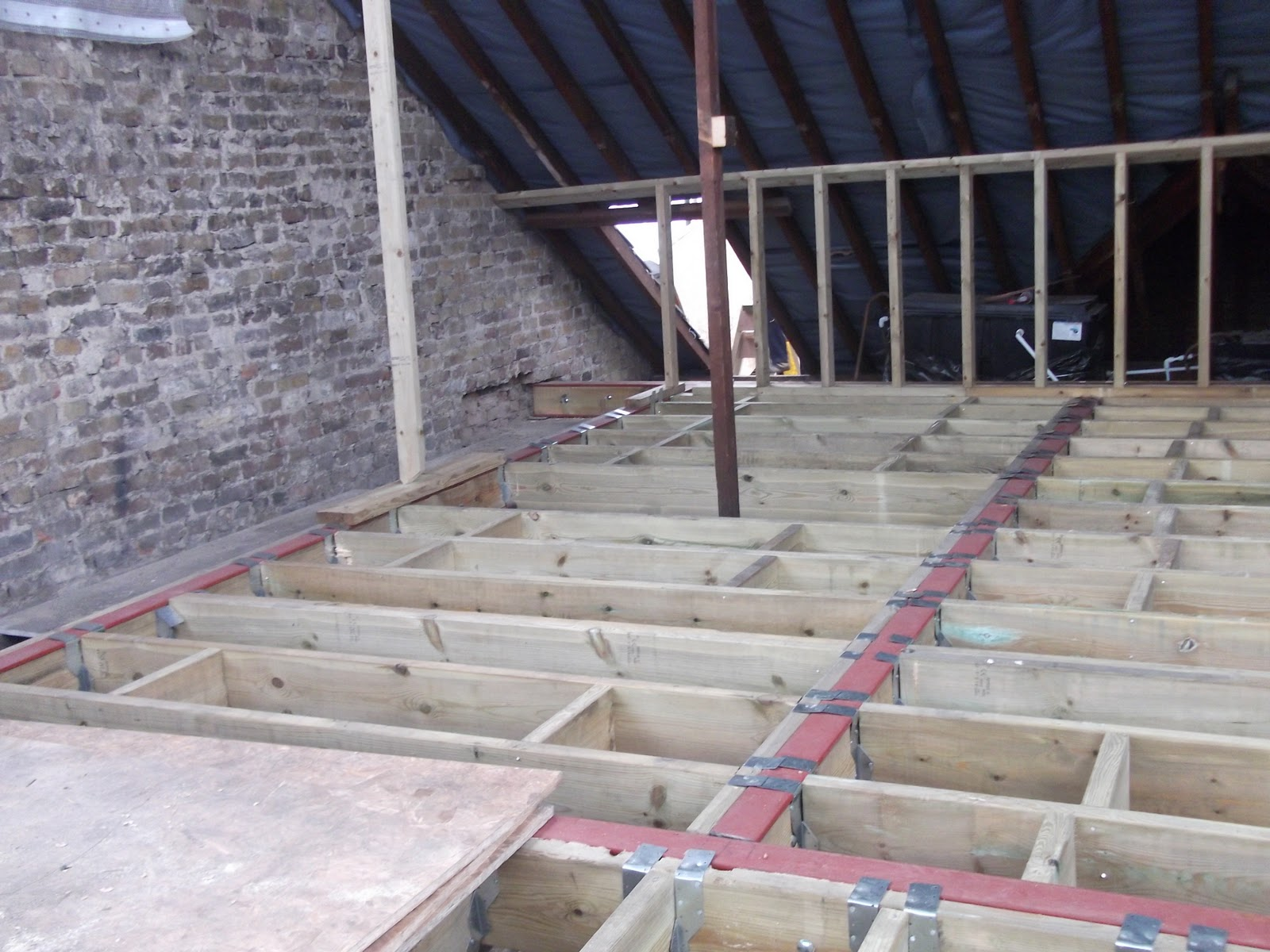 Loft Conversion A How To Guide Installing The Floor