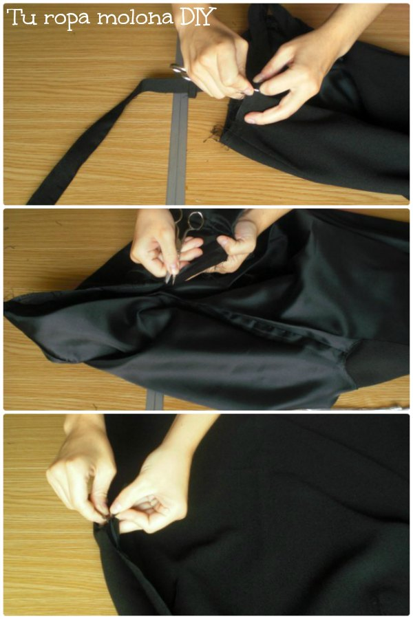 Descoser la falda