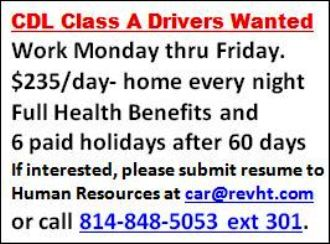 CDL Class A Drivers WAnted