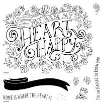 February Stamp of the Month - Heartfelt Sentiments