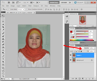 Cara Edit Photo di Photoshop