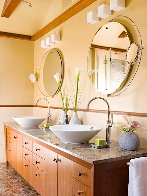 Bowl Sink Bathroom remodeling photo