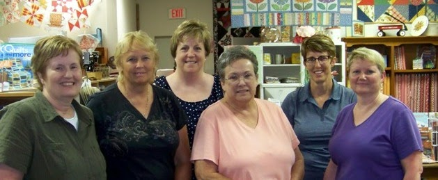 Quilting Teachers at the shop.