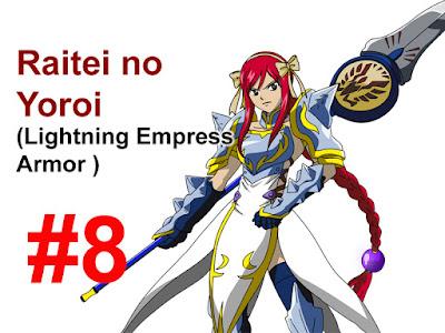 lightning empress armor erza scarlet