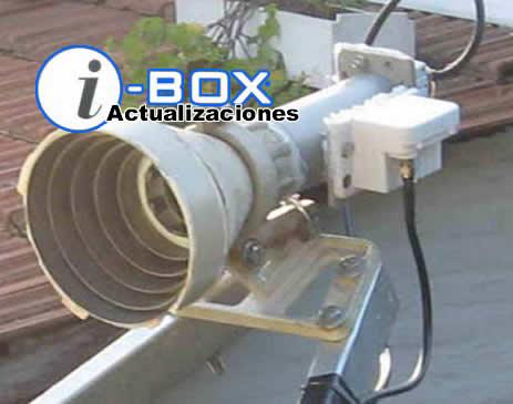 LNB Flange banda C, montados en alimentador Duplo. observese el escalar conico para banda C, empleado en una antena offset de banda C.