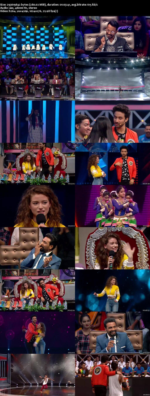 Screenshots Of Hindi Show Dance Plus Season 3 6th August 2017 Episode 12 300MB 480P HD