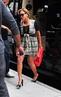 bee4 Beyonce radieuse dans les rues de New-York