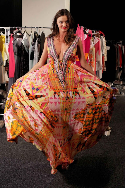 Miranda Kerr – David Jones Fashion Show Backstage