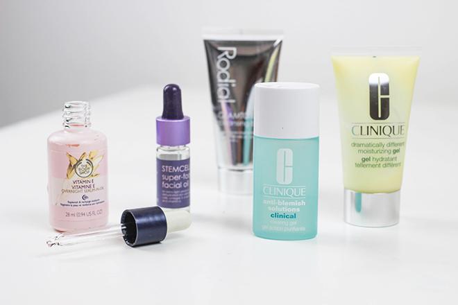 2014 Skincare Favourites Rodial Bodyshop Clinque