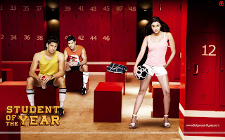Student Of The Year Wallpaper Alia Bhatt, Varun Dhawan, Sidharth Malhotra