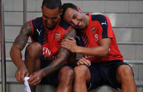 News Theo Walcott and Santi Cazorla have agreed new deals with Arsenal