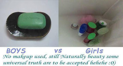 funny boys vs girls soap difference