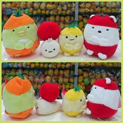 (INSTOCK) CLICK TO SEE 2016 San-x Fansclub Sumikko Gurashi Fruit Tomato Collection