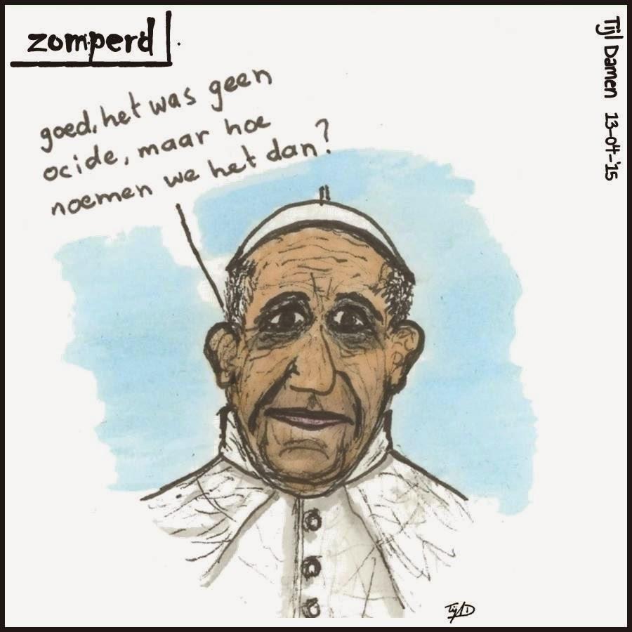 Zomperd: inkeer Paus