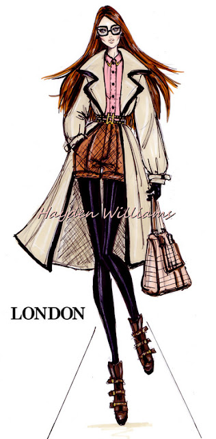hayden williams london fashion illustration sketch drawing