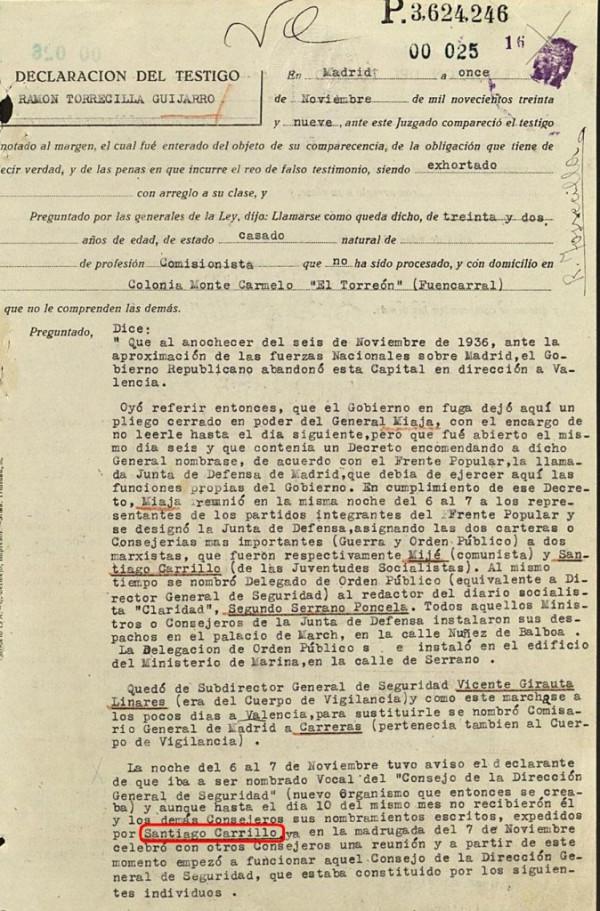 La verdad de paracuellos carrillo genocida fue culpable - Tiempo en paracuellos del jarama ...