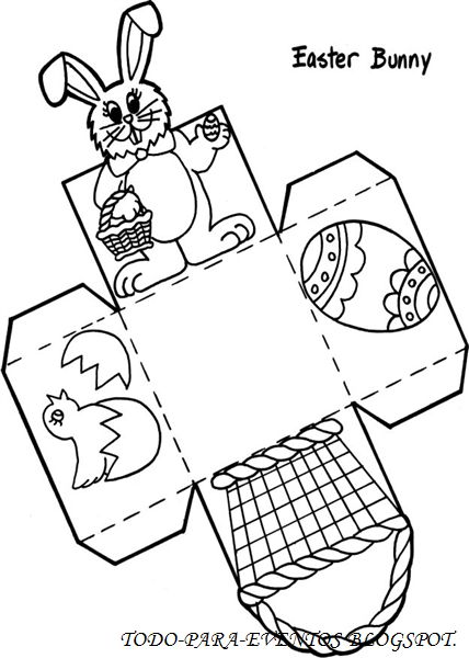 easter templates to print