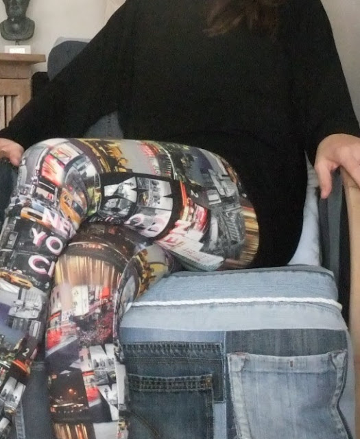 Leggings aus Digitalprint