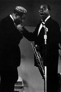 Dizzy Gillespie e Louis Armstrong