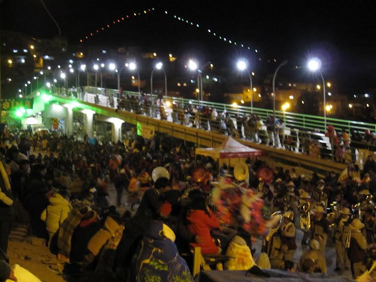 Nuevo puente - Final Calle Cobija