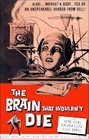 Portada película El cerebro que no quería morir