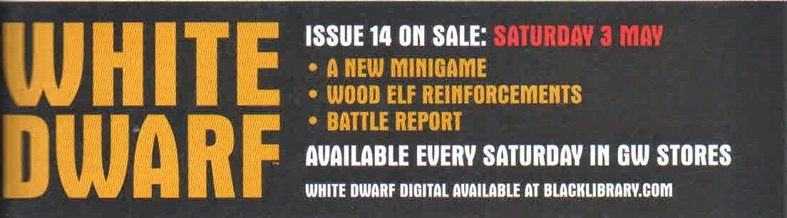 Minijuego en la White Dwarf Weekly número 14