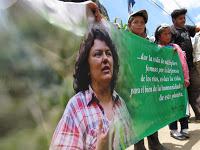(FOTOS) Seis meses de indignación, exigiendo justicia por el asesinato de Berta Cáceres