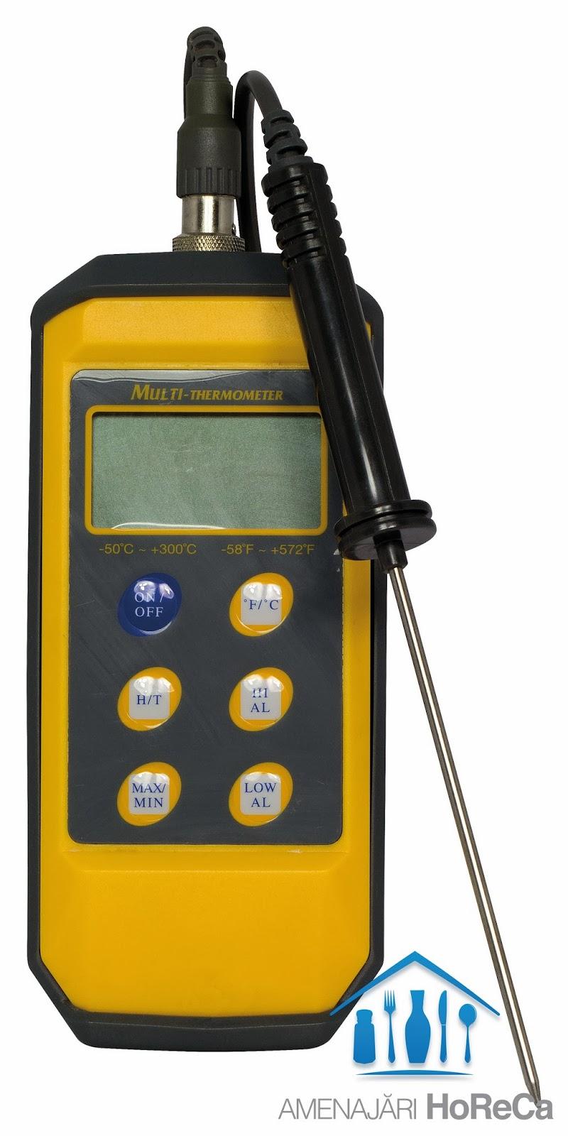 Termometru bucatarie cu sonda, Termometre profesionale horeca