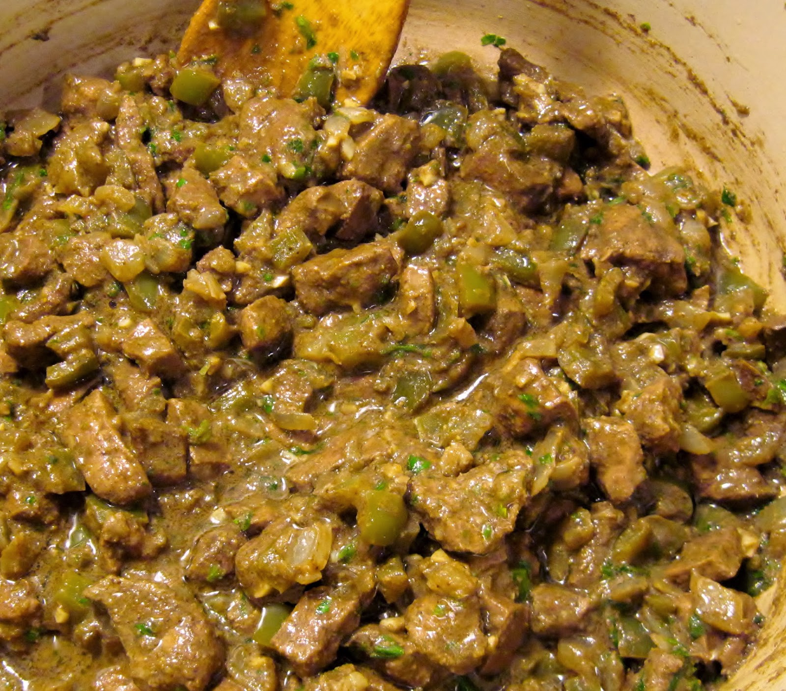 Recipe for Egyptian beef liver
